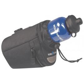 Bolsa para sillín Micro Bottle Bag negro, 9x14x15cm, incl. adaptador 0289S