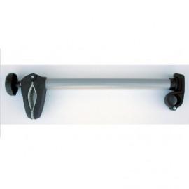 Brazo-soporte 3-D largo para 3. bici para Peruzzo, longitud 40cm cerrable