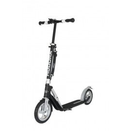"City Scooter Big Wheel Air Hudora Alu 9"" 230 Air negro/plata 230mm"