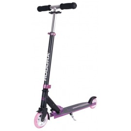 "City Scooter Bold Wheel S Hudora Alu 5"" 125/100 rosa/negro 125/100mm"