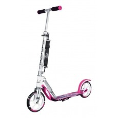 "City Scooter Big Wheel Hudora Alu 8"" GC205 fucsia/plata 205mm (girly-color)"