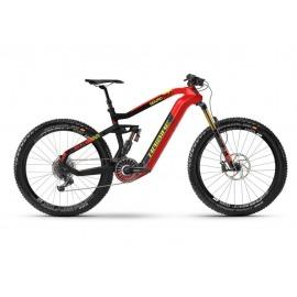 Haibike XDURO Nduro 10.0 2020 i630Wh 8-v. EX1HB Flyon rojo/carbono/amarillo mate S