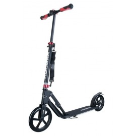 "City Scooter Big Wheel Hudora Alu 9"" 230 Style negro 230mm"