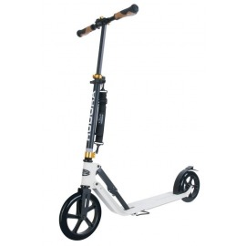"City Scooter Big Wheel Hudora Alu 9"" 230 Style blanco 230mm"
