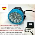 Foco de Luz Led frontal para bicicleta ANTZ BIKE 14000LM- 10 LED