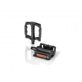 XLC Pedales MTB/ATB Freestyle PD-M27 cuerpo de plástico, negro