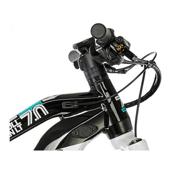 Haibike SDURO FullSeven LT 7.0 i500Wh 11-v. NX 19 HB BCXP gris/negro/turquesa T. S