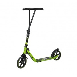 City Scooter Big Wheel Hudora V 205 verde lima, plegable, 205mm