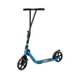 City Scooter Big Wheel Hudora V 205 azul claro, plegable, 205mm