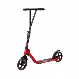 City Scooter Big Wheel Hudora V 205 rojo, plegable, 205mm