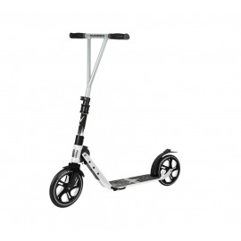 City Scooter Big Wheel Hudora V 230 blanco,pleg., delante 230mm/detrás 215mm