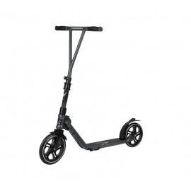 City Scooter Big Wheel Hudora V 230 antracita,pleg.,dela. 230mm/detrás 215mm