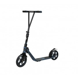 City Scooter Big Wheel Hudora V 230 azul,plegable,delante 230mm/detrás 215mm