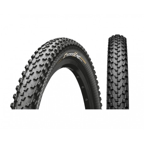 "tyre Conti Cross King 2.2 Performance 27.5x2.20"" 55-584 black/black Skin"