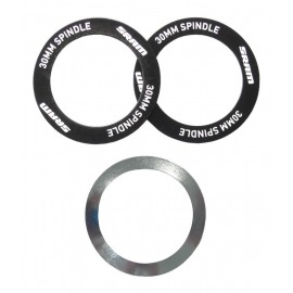 Bottom Bracket Shield and Wave Washer Assembly, BB30 Bearing