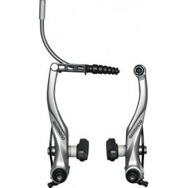V-Brake Shimano BR-T 4000L RT, plata , con guía de cable