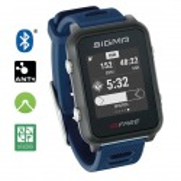 Pulsómetro Sigma ID Free azul