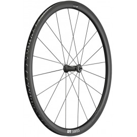 RD DT Swiss PRC 1400 Spline 35 carbono, negro, 100/5mm QR