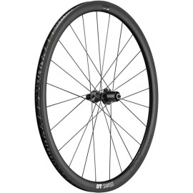 RT DT Swiss PRC 1400 Spline 35 carbono, negro, 130/5mm QR