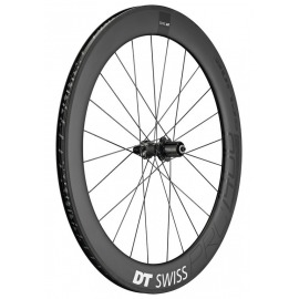 "RT DT Swiss PRC 1400 Spline 65, 28""/18mm carbono, 130/5mm QR"