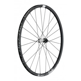 RD DT Swiss CR 1600 Spline 23 Alu, negro, Center Lock, 100/12mm TA