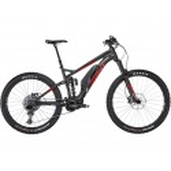 "Bicicleta Electrica Ghost Hybride SL AMR S 2.7+ AL 29/27,5+"", night black/riot red/iridium silver (2019)"