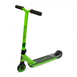 Stuntscooter Madd Carve Rookie lime/negro ruedas 100mm
