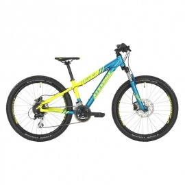 "BICICLETA INFANTIL STEVENS 20 TEAM RC 24"" NEON YELLOW"
