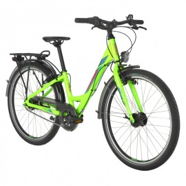 "BICICLETA INFANTIL STEVENS 20 TOUR NEXUS 24"" GIRL FLASH GRE"