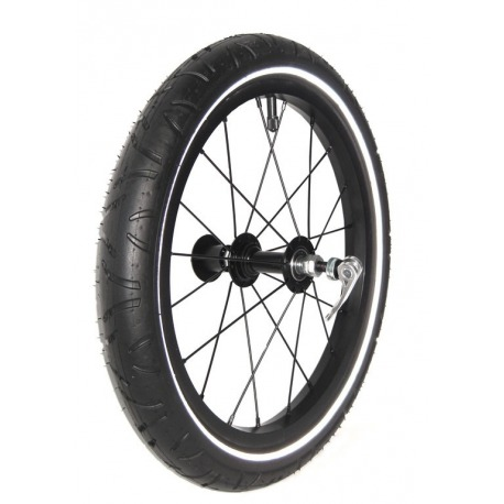 Burley Adultos Aluminio QR Rueda Negro 16/Pulgadas