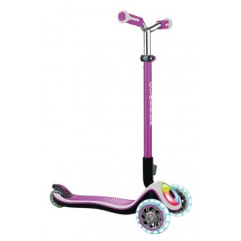 scooter Globber Elite Prime pink w. light wheels a. light board