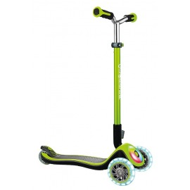 scooter Globber Elite Prime green w. light wheels a. light board