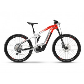 """Bicicleta Electrica doble suspension 27 5"""" Haibike FullSeven 9 i625Wh 12-G Deore cool grey/red 2021"""