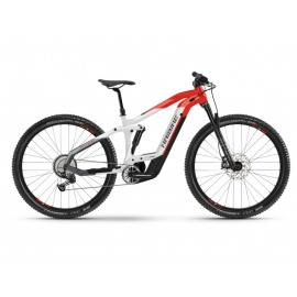 """Bicicleta Electrica doble suspension 29"""" Haibike FullNine 9 i625Wh 12-G Deore coolgrey/red 2021"""