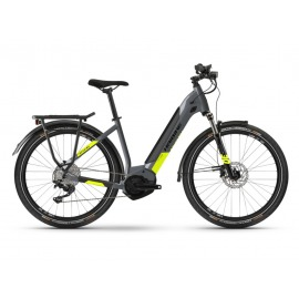 Bicicleta Electrica Haibike Trekking 6 i500Wh LowStep 10-G Deore cool grey/red 2021
