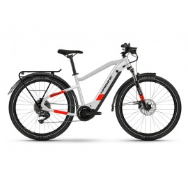 Bicicleta Electrica Haibike Trekking 7 i630Wh Unisex 11-G Deore cool grey/red matte 2021