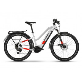 Bicicleta Electrica Haibike Trekking 7 i630Wh Trapez 11-G Deore cool grey/red matte 2021