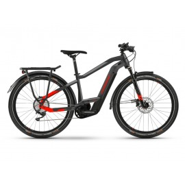 Bicicleta Electrica Haibike Trekking 9 i625Wh Unisex 11-G Deore anthracite/red 2021