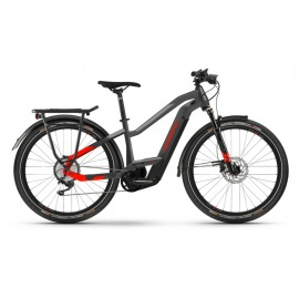 Bicicleta Electrica Haibike Trekking 9 i625Wh Trapez 11-G Deore anthracite/red 2021