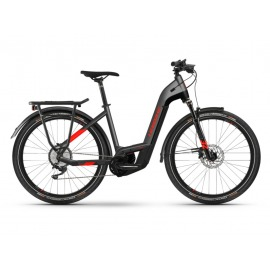 Bicicleta Electrica Haibike Trekking 9 i625Wh LowStep 11-G Deore anthracite/red 2021