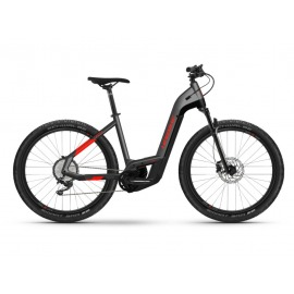 Bicicleta Electrica Haibike Trekking 9 Cross i625Wh LowStep 11-G anthracite/red 2021