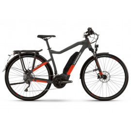 Bicicleta Electrica Haibike Trekking S 9 Unisex 500Wh 20-G XT anthracite/red 2021
