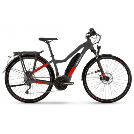Bicicleta Electrica Haibike Trekking S 9 Trapez 500Wh 20-G XT anthracite/red 2021