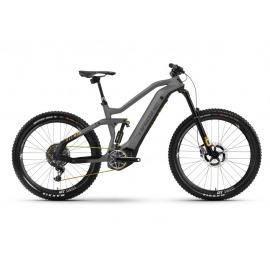 Bicicleta Electrica doble suspension Haibike AllMtn SE i600Wh 12-G XX1-AXS titan/black/yellow matte 2021
