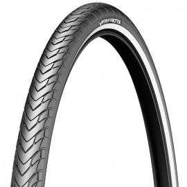 "Cubierta Michelin Protek alambre 26"" 26x1.40 35-559 negro Reflex"