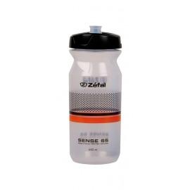 Bidón Zefal Sense M65 650ml/22oz A:193mm trans.(negro/naranja)