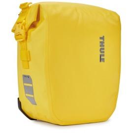 Bolsa Thule Shield Pannier (par) amarilla pequeña 13 litros