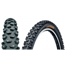 "Cubiertas Conti Spike Claw 120 26x2.1""54-559 negro-Skin, 120 Spikes"