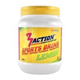 Bebida Isotonica 3Action Sports Drink 500g-Limón