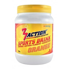 Bebida Isotonica 3Action Sports Drink 500g-Naranja